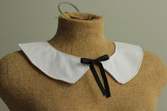 detachable collar pattern: how to make a peter pan collar - A Common Thread