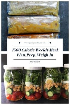 1500 Calorie Weekly Meal Plan Food Prep and Weigh-in June Once a week meal prep menu plan. 1500 Calorie Weekly Meal Plan Food Prep and Weigh-in June Once a week meal prep menu plan. Meal Prep Menu, Diet Meal Plans, Diet Recipes, Healthy Recipes, Healthy Meals, Skinny Recipes, Healthy Food, Yummy Food, 1500 Calorie Meal Plan