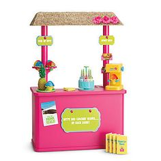 American Girl Doll Kanani Shave Ice Stand