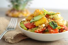 Grilled Vegan Hawaiian Salad 1