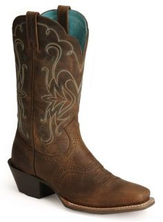 Ariat Saddle Vamp Legend Riding Cowgirl Boots - Square Toe available at #Sheplers  These are nice too.