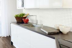 Smartpanel Kitchen Mosaic 400 WHG 3x3   Smartpanel Kitchen Mosaic, Table, Furniture, Home Decor, Decoration Home, Room Decor, Tables, Home Furnishings, Home Interior Design