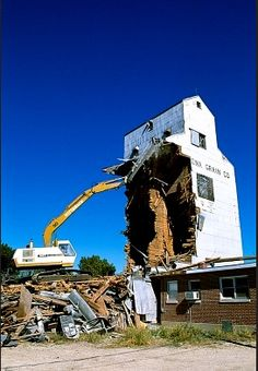 Old building #demolition.