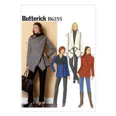 Butterick B6255 Misses' Coat
