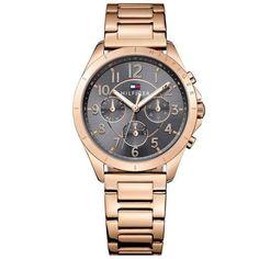 Relógio Tommy Hilfiger Feminino Aço Rosé - 1781606