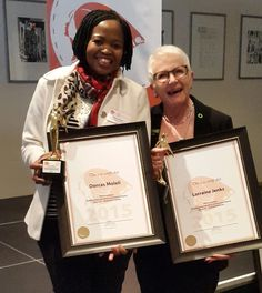 """Lorraine Jenks received An award for """"Environmental Quality"""" (or advocating… Lorraine, Gossip, Communication, Trainers, Coaching, Africa, Tennis, Training, Athletic Shoes"""