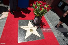 A view of Luther Vandross's Star on The Hollywood Walk Of Fame on June 2014 in Hollywood, California. Hollywood Walk Of Fame, In Hollywood, Luther Vandross, Hollywood California, Jr, Stock Photos, Stars, Sterne, Star