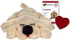 Smart Pet Love Snuggle Puppy Behavioral Aid Dog Toy is designed to help your dog cope with everyday stressors. This comforting toy recreates the intimacy and physical warmth that your nervous pup craves in times of stress due to loneliness, fear and separation anxieties. This stuffed animal behavioral aid also features a real-feel, pulsing heartbeat and heat source that works to calm your pup and reduce negative behaviors such as barking and whining. You can switch the heartbeat function on…