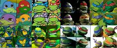 Evolition of the TMNT go 2012