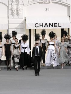 Karl Langerfeld and Chanel= my favorite.