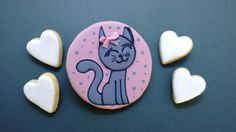 Cat and Hearthstone  cookie