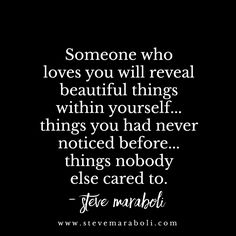Someone who loves you will reveal beautiful things within yourself. things you had never noticed before. things nobody else cared to. Good Marriage Quotes, Wife Quotes, Relationship Quotes, Relationships, Real Love, Love You, Life Partner Quote, Together Quotes, Life Quotes Pictures