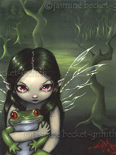 Fairy Art : To Love a Frog