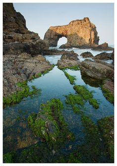 Still Pool   The Great Pollet Arch, Fanad, County Donegal