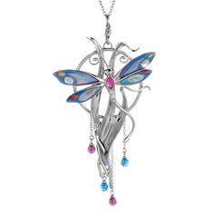 Franz Dragonfly Design Necklace