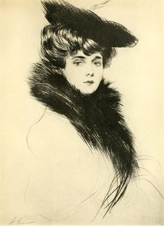 by Paul César Helleu avril 1892