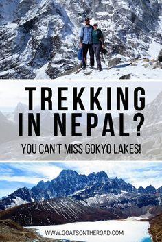 Trekking In Nepal? You Can't Miss Gokyo Lakes  #travel #travelling #destinations #travelblogger #travelstories #travelinspiration #besttravel #tourism #travelwriter #travelblog #traveldeeper #traveltheworld #AsiaTravel  http://adventuresoflilnicki.com