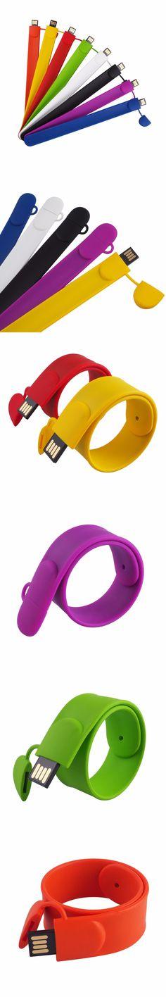 free shipping christmas bulk 8gb usb flash drives usb wedding bracelet slap usb flash drive silicone