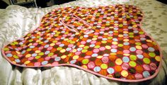 button baby top and car seat blanket | photosarah crafts