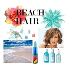 """""""Beach hair"""" by amalie1wied ❤ liked on Polyvore featuring beauty, Sachajuan, MAC Cosmetics, Essie and beachhair"""