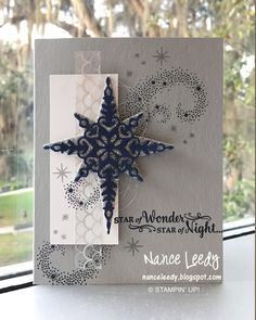 Canopy Crafts: Star of Light for a Paper Players Sketch PP318