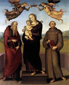 Pietro Perugino. Madonna di Loreto. 1507.
