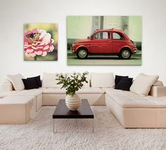 Easy Canvas Prints---a great way to make personalized art!!