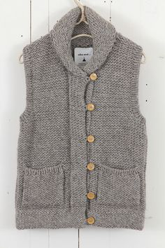 Warm and cozy knit vest