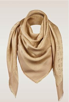 Louis Vuitton gold scarf