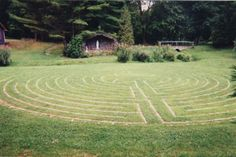Chartres replica, Dominican Sisters Retreat Center Labyrinth, Saugerties, NY
