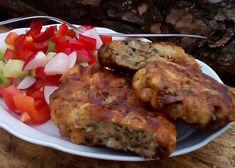 Žemlové karbanátky se žampiony recept - TopRecepty.cz Polenta, Pork, Meat, Chicken, Kale Stir Fry, Pork Chops, Cubs