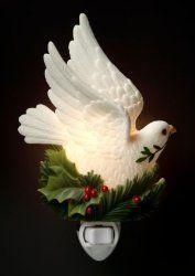 Peace Dove Nightlight Ibis & Orchid Designs