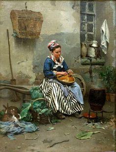 J'ai choisi de présenter un certain nombre de peintres naturalistes que j'aime tout particulièrement... Et le 1er sera... JULIEN DUPRE Julien Dupré (19/03/1851 - 15/04/1910) est le fils de Jean-Marie Pierre Dupré (11/11/1809 Paris 3ème – 05/03/1904 Paris...
