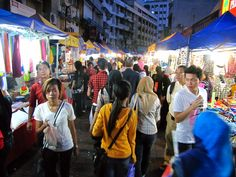 Kuala Lumpur market...had to have a day stop over on our way from Canada to NZ to do some shopping