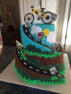 Road Bike Cake Designs