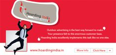 Media Advertising Agencies in Delhi play a very important role in distribution the wakefulness between the public about the brand, product or service, through their innovative designs and communication solutions across a wide range of media. http://hoardingindia.in