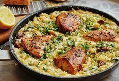 HETI MENÜ: ha van 30 perced egy fogásra, ez a hét csak a tiéd ! Penne, Orzo, Paella, My Recipes, Curry, Meals, Chicken, Cooking, Ethnic Recipes