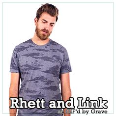 "Too Many Rhett and Link Gifs, [►] ""I would die for you. If you were a gorilla, I..."