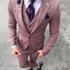 Best of men Mens Fashion Suits, Blazer Fashion, Mens Suits, Fashion Outfits, Fashion Clothes, Fashion Menswear, Style Fashion, Stylish Mens Outfits, Business Casual Outfits
