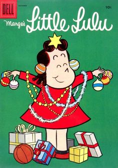 December Little Lulu comic.