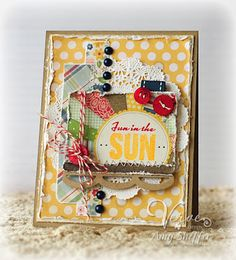 Pickled Paper Designs: Verve Inspirations Hop - Fun in the Sun