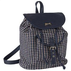 Achilleas Accessories - Προϊόντα : New Collection | FW 2014-15 / Τσάντες / Backpacks / ΤΣΑΝΤΑ ΠΛΑΤΗΣ ΥΦΑΣΜΑΤΙΝΗ ΜΠΛΕ ΠΤΙ ΚΑΡΟ Fashion Backpack, Backpacks, Bags, Beauty, Accessories, Collection, Backpack, Handbags, Beauty Illustration