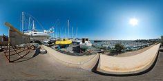 Le port de plaisance de Granville depuis la promenade du Dr Paul Lavat - France © Pascal Moulin