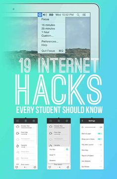 19 Internet Hacks Every Student Should Know