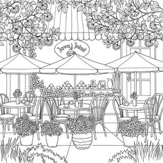 Adult Coloring Page The World Of Debbie Macomber