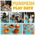 Pumpkin Play Date Activities. What a fun idea!!