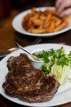 Great Steak Frites in Paris | davidlebovitz.com