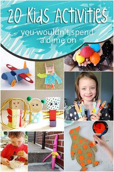 20 Frugal Activities For Kids | MollyMooCrafts.com for @Holly Hanshew Hanshew Homer