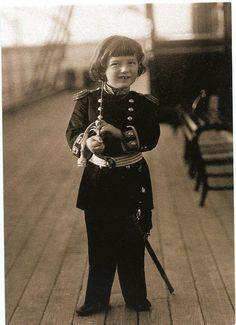 Romanov Alexey at Royal Yacht in 1907 Russian Royalty modern postcard | eBay