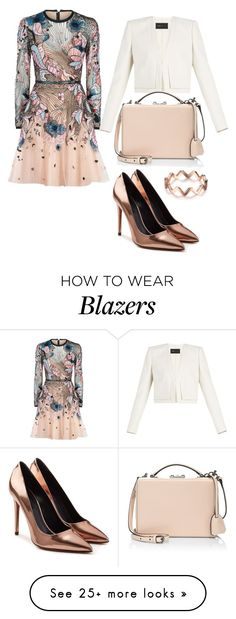 """""""Party Dress"""" by vanessa0xx on Polyvore featuring Elie Saab, Alexander Wang, BCBGMAXAZRIA, Mark Cross, contestentry and polyPresents"""